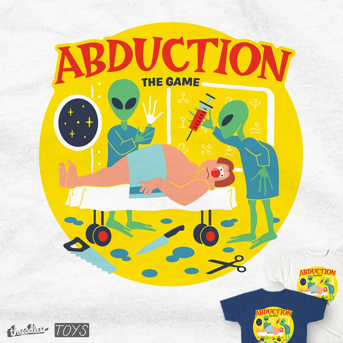Abduction by csweiler on Threadless
