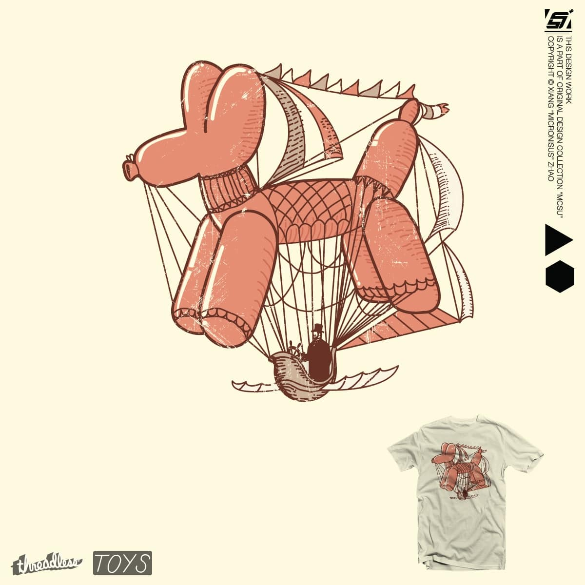 Zeppelin doggy by micronisus on Threadless