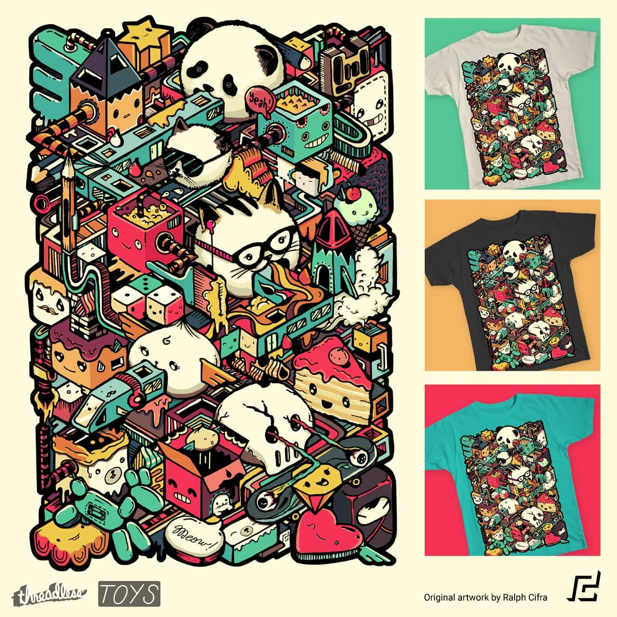 Happy Land of Toys by rtcifra on Threadless
