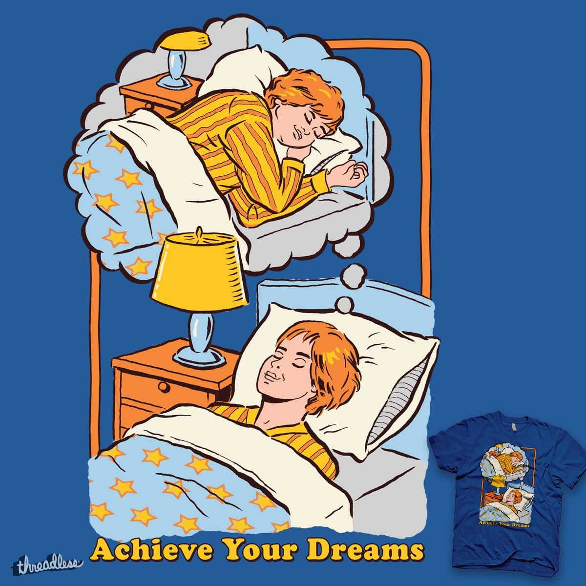 Achieve Your Dreams by blue sparrow on Threadless