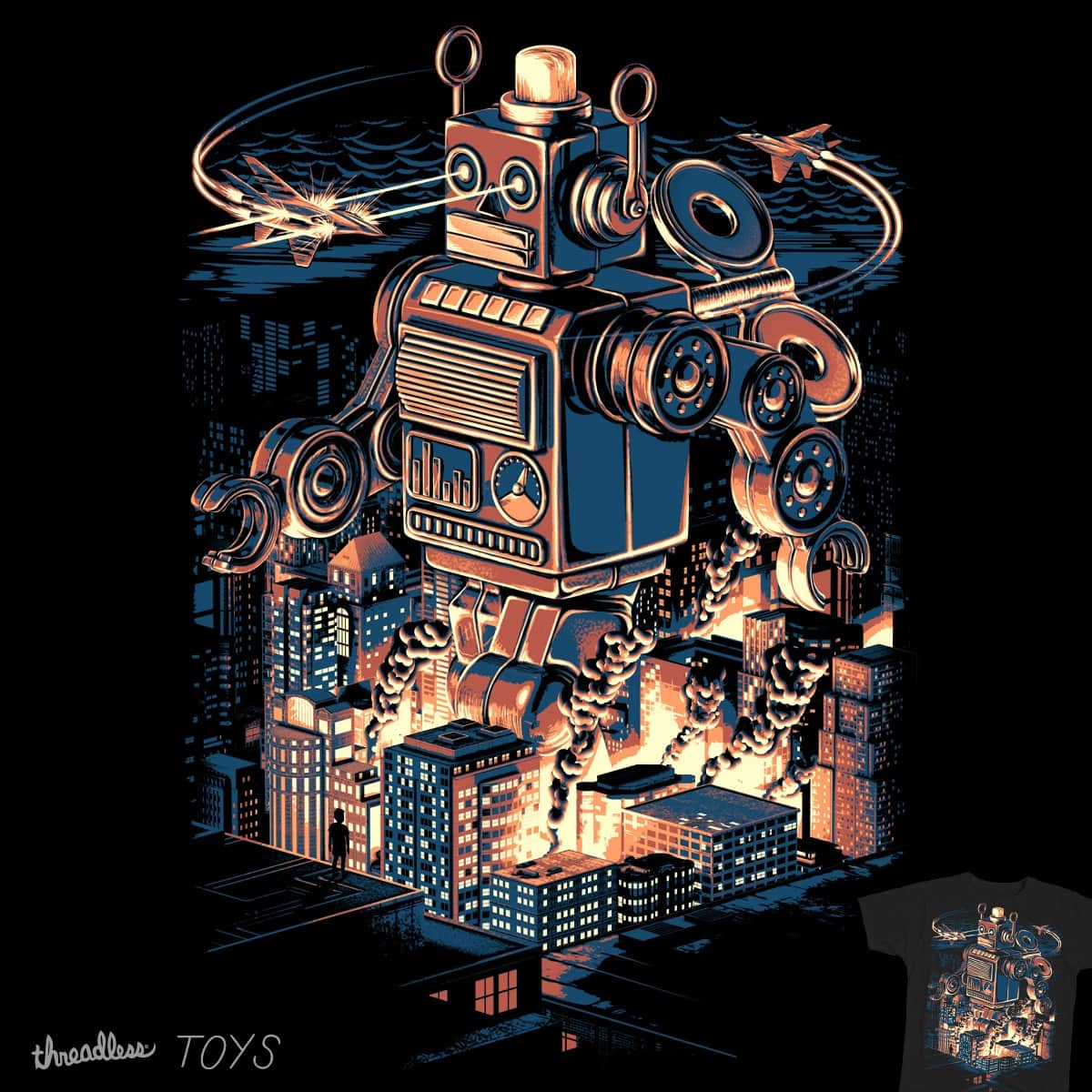 Night of the toy by Vlend on Threadless