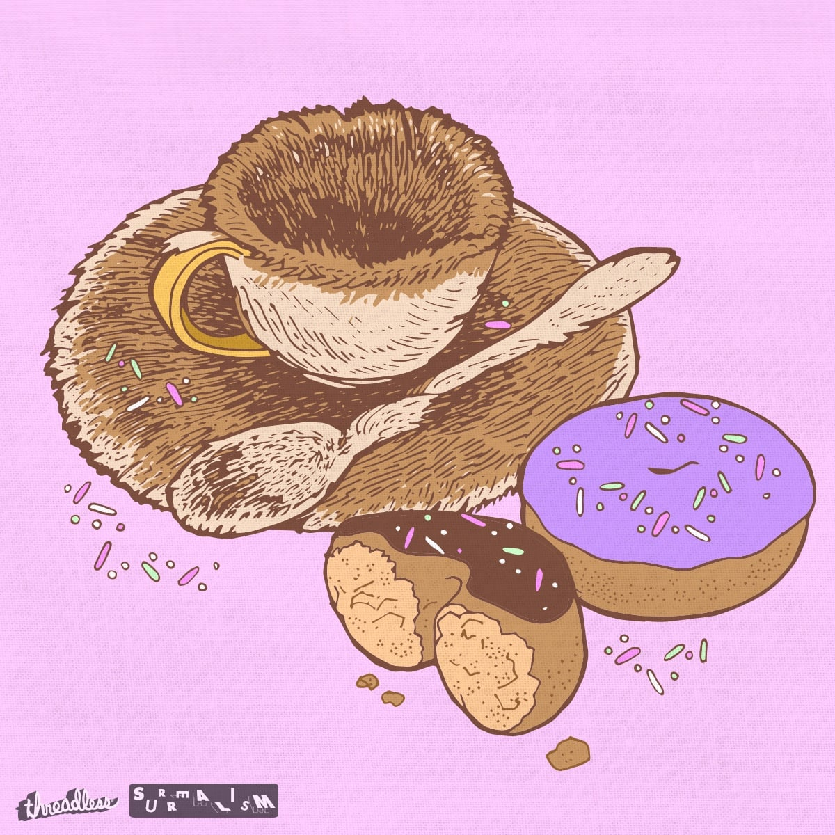 Brunch'n in Fur by napiform on Threadless