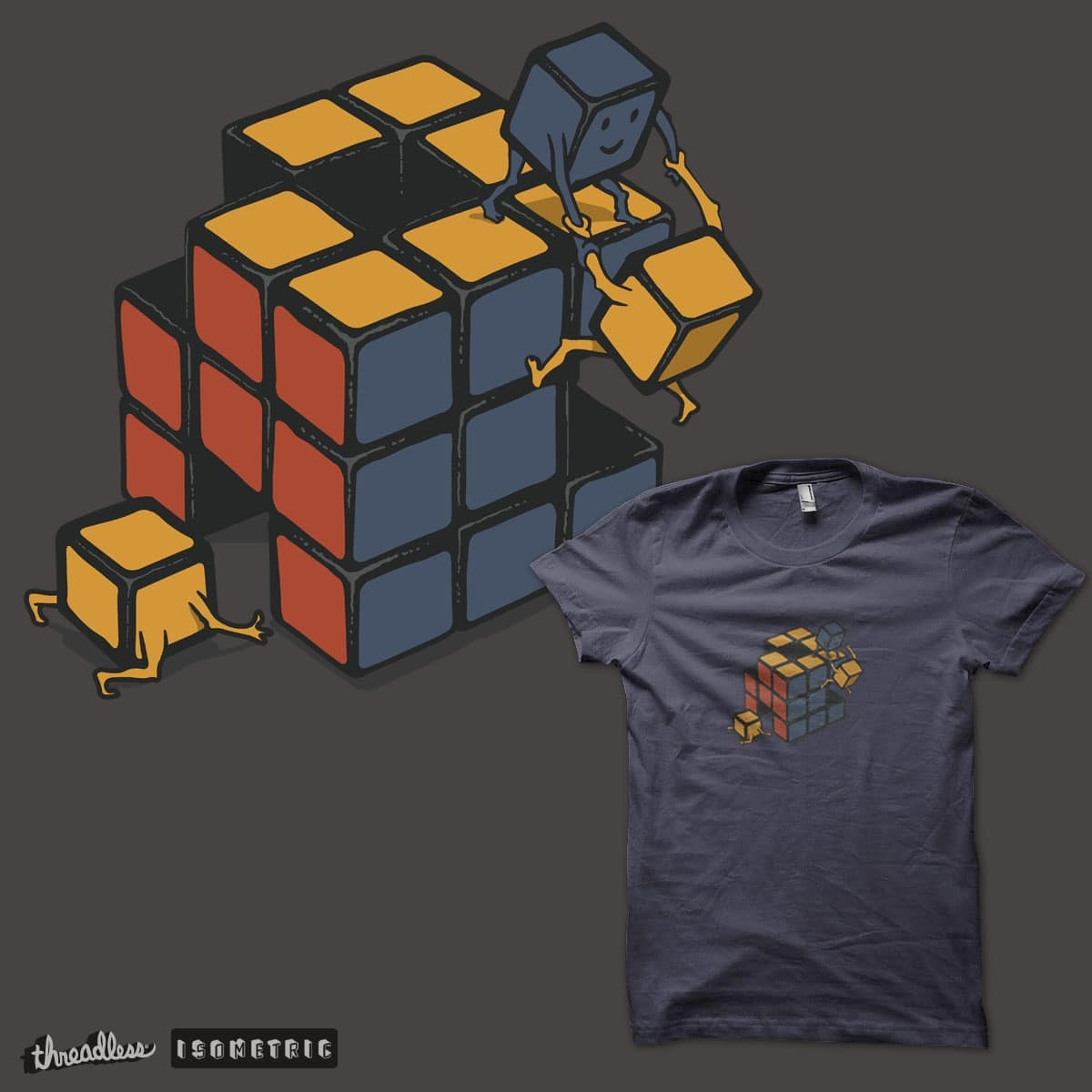 The Cube by Roughy on Threadless