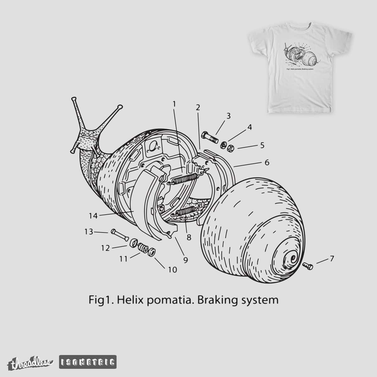 BRAKING SYSTEM by GoToUp on Threadless