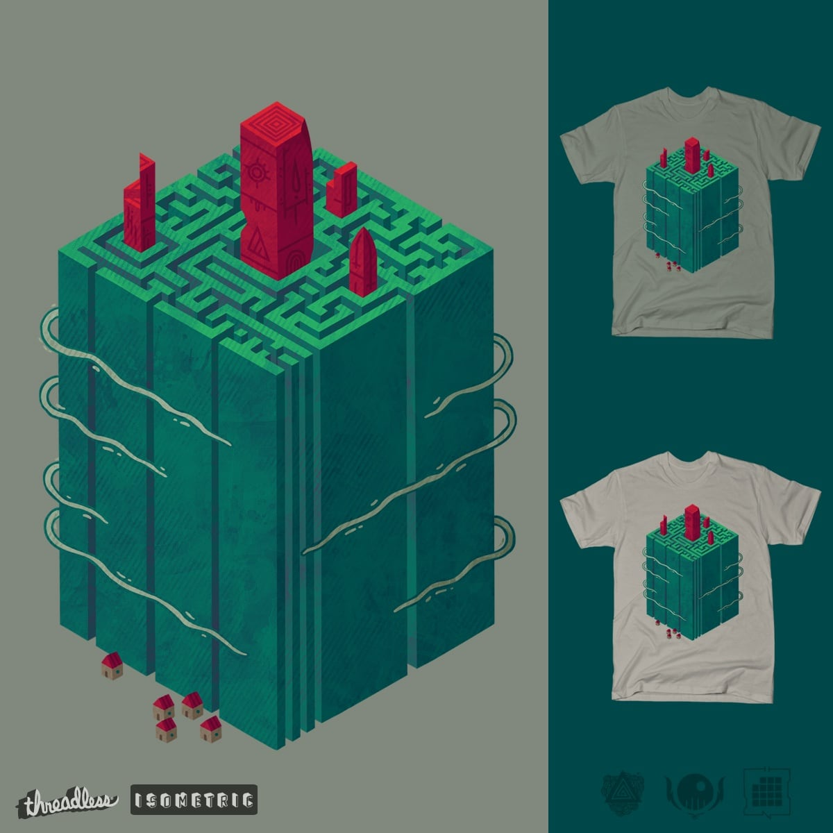 Within the Maze by againstbound on Threadless