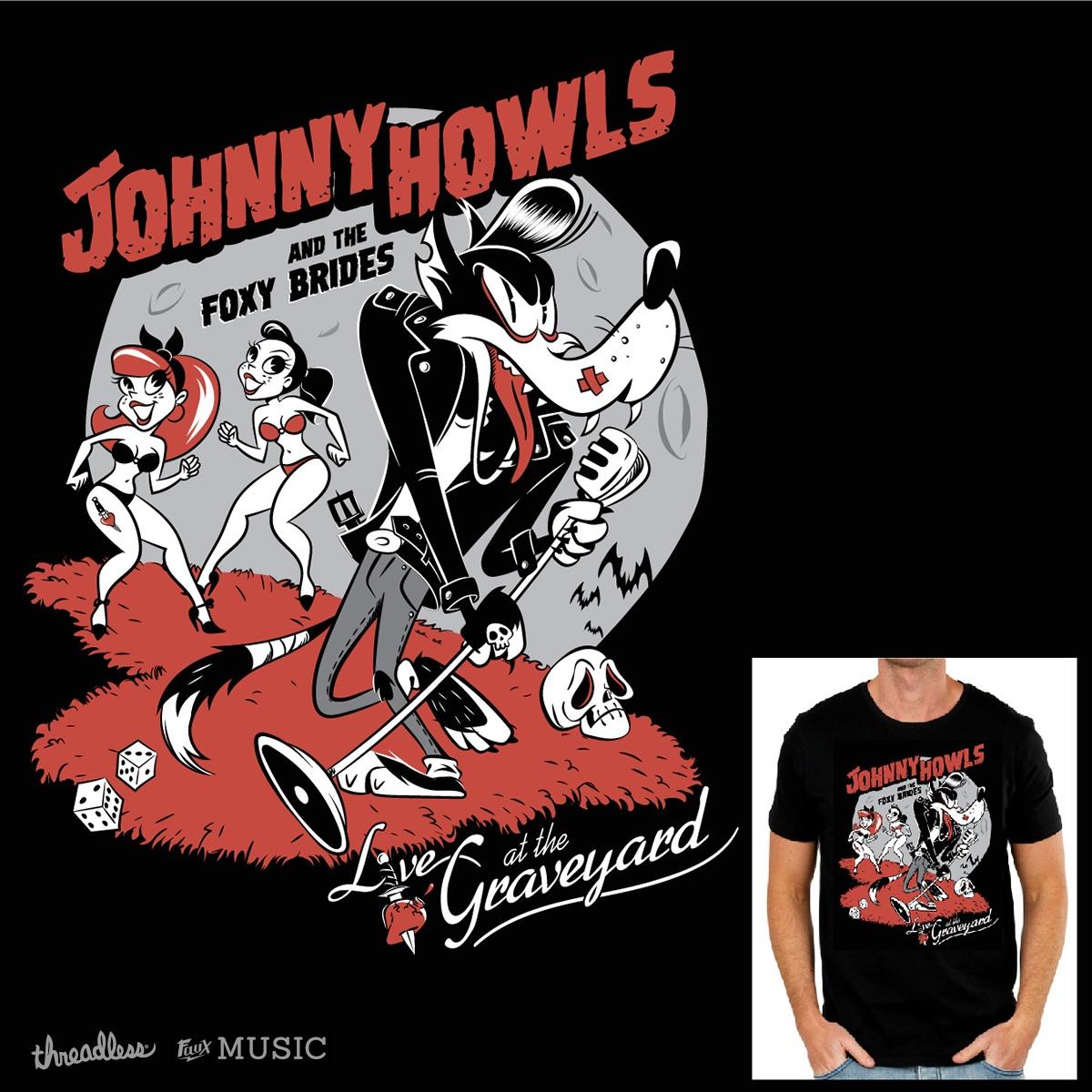 Johnny Howls and the Foxy Brides by Szoki on Threadless
