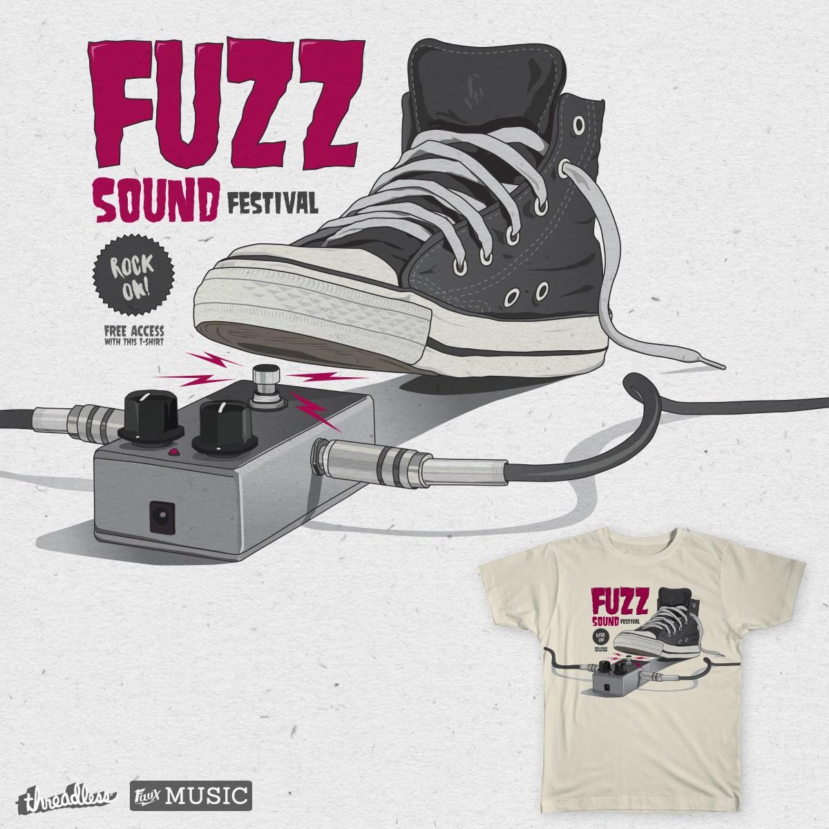 Fuzz Sound Festival by Luis Olivares on Threadless