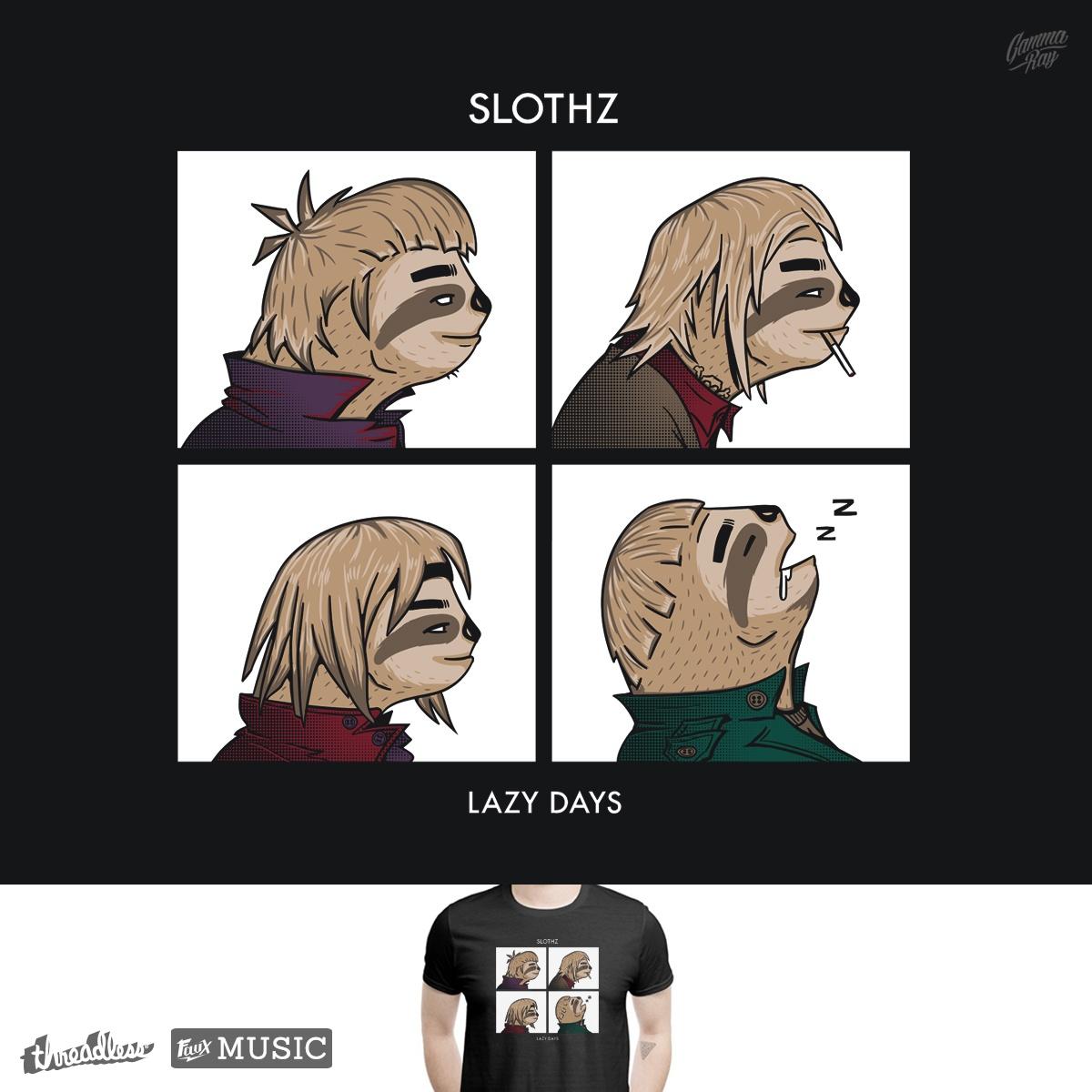 Slothz by Gamma-Ray on Threadless