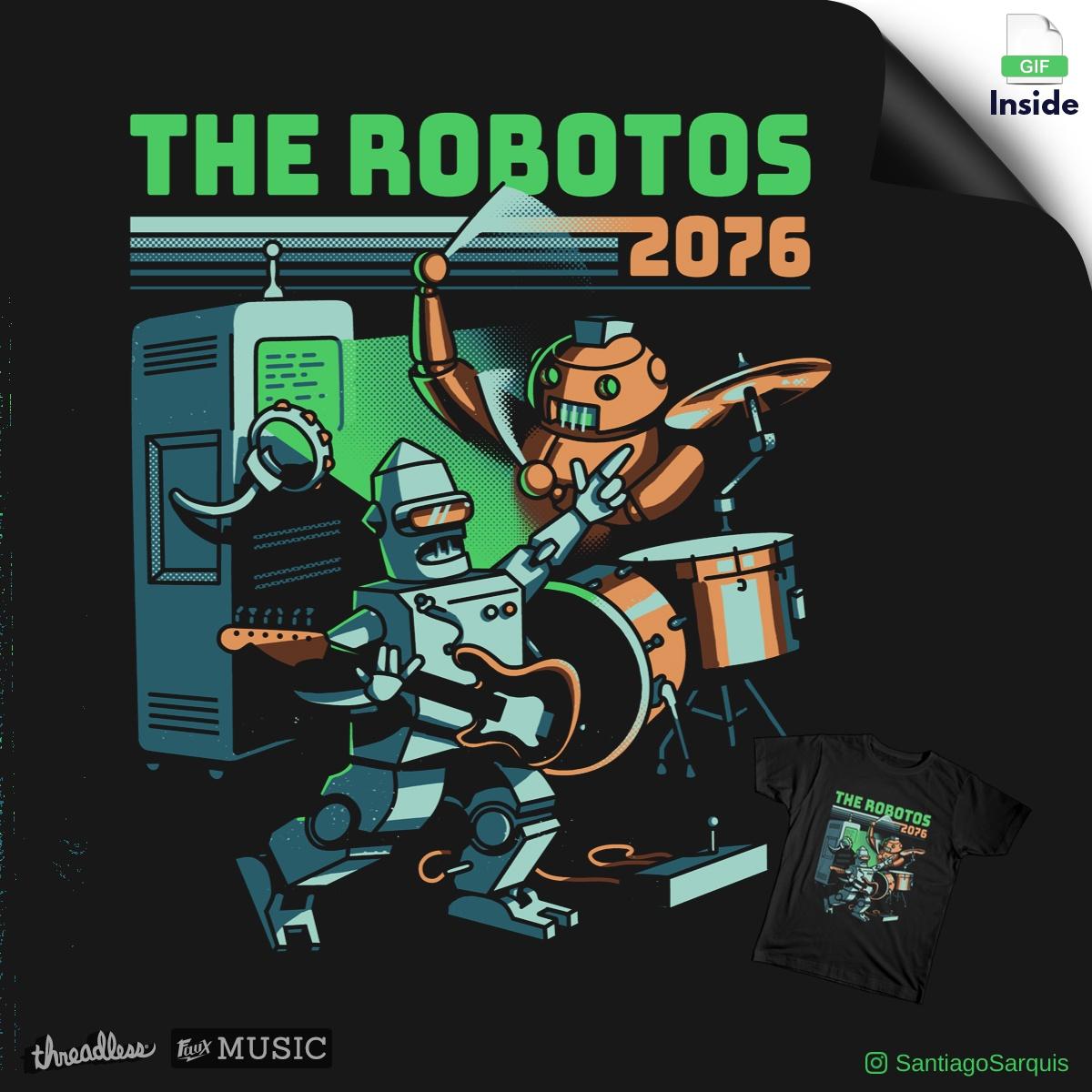 The Robotos by metalsan on Threadless