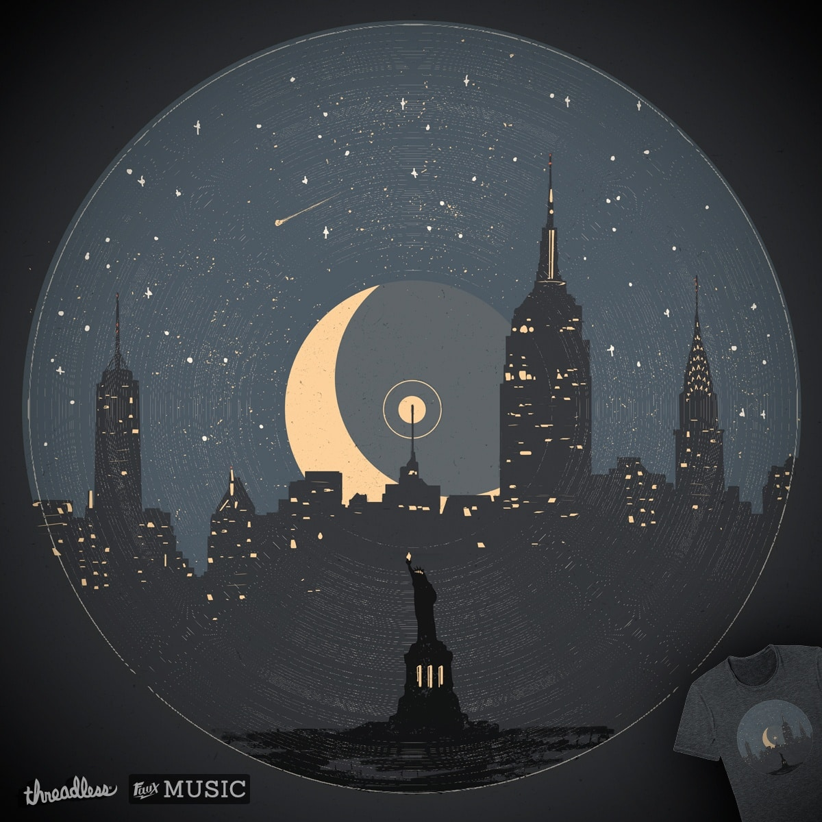 NYC LP... by NDTank on Threadless