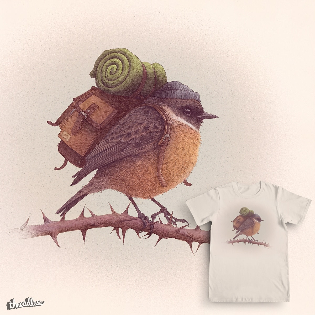 Wanderlust by Mike Marshall on Threadless