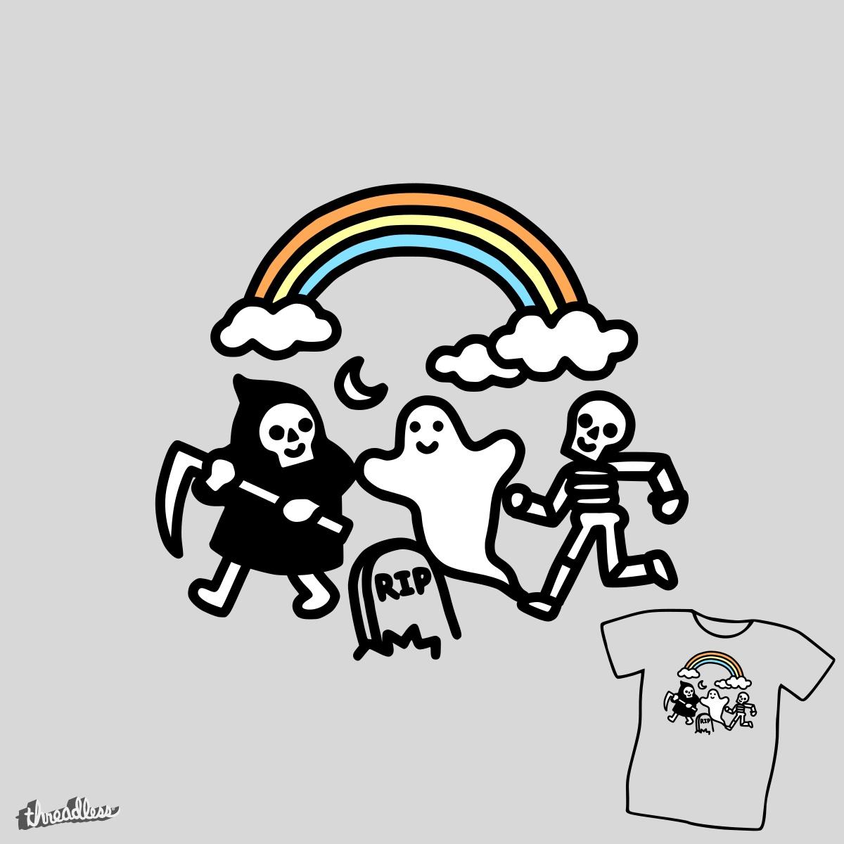 Spooky Pals by obinsun on Threadless