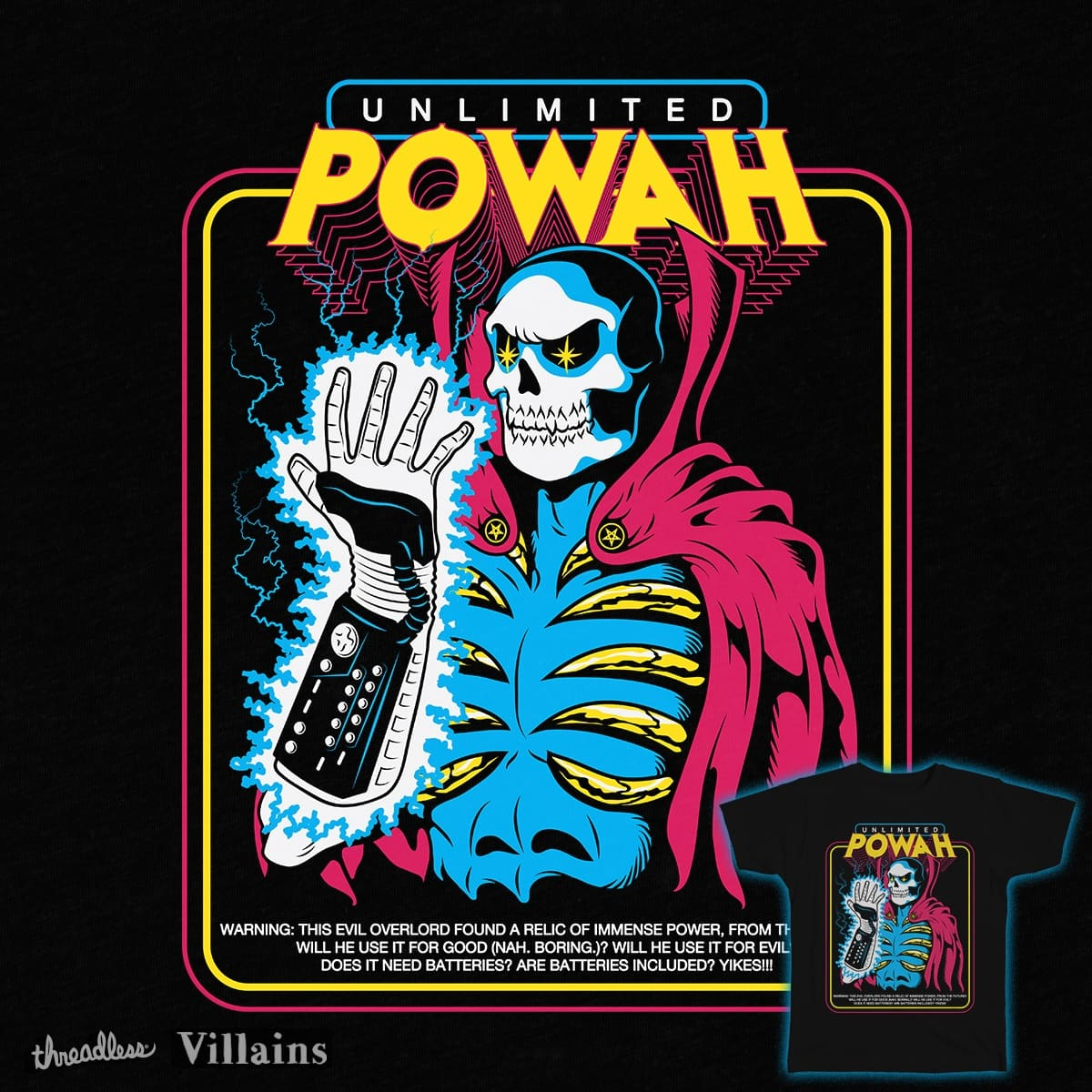 UNLIMITED POWAH by renvillainzilla on Threadless