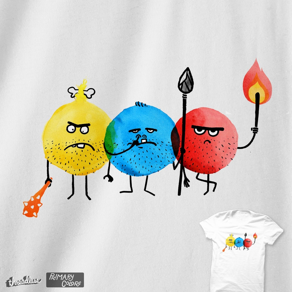 Primary Colors by v_calahan on Threadless