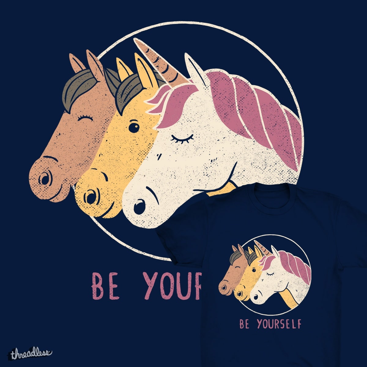 Be Yourself by tobefonseca on Threadless