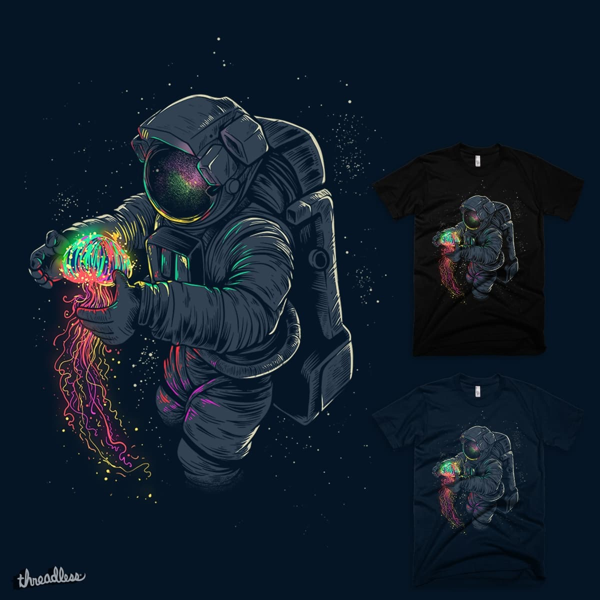Jellyspace by Angoes25 on Threadless