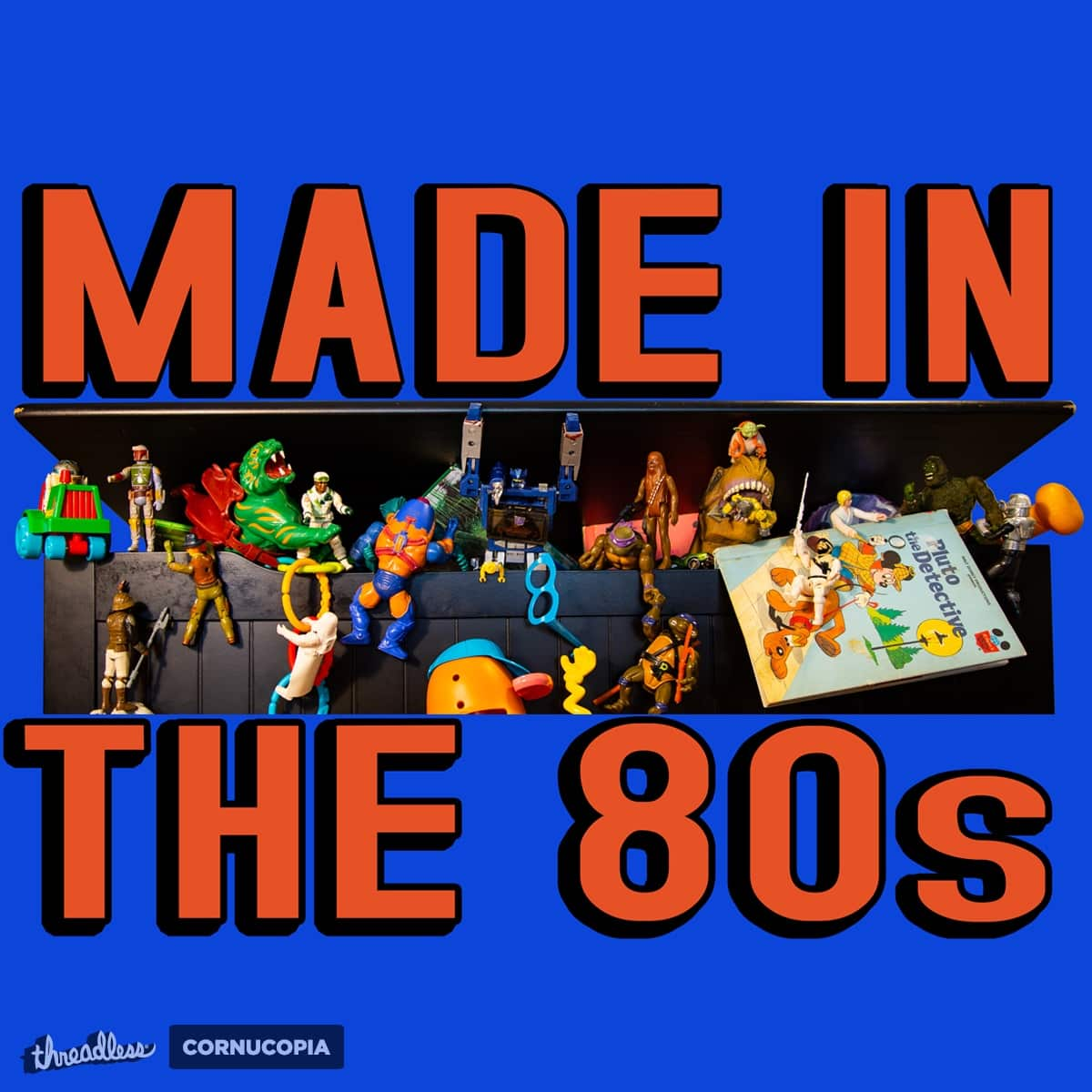 Made In The 80s by HIDENbehindAroc on Threadless