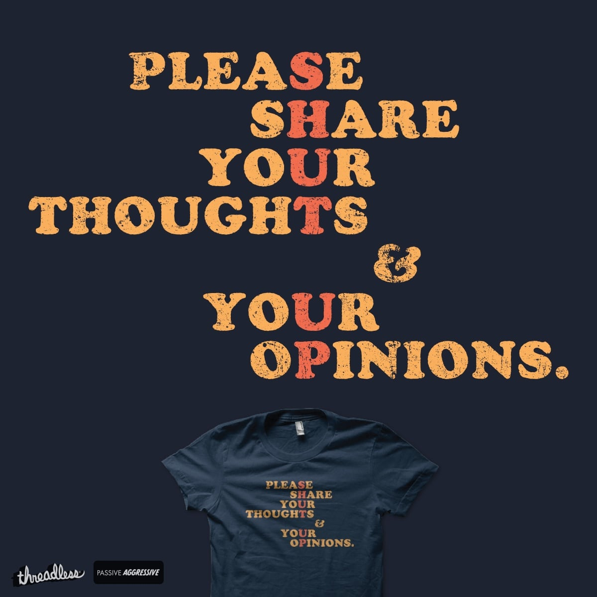 Shut Up And Talk by Shadyjibes on Threadless