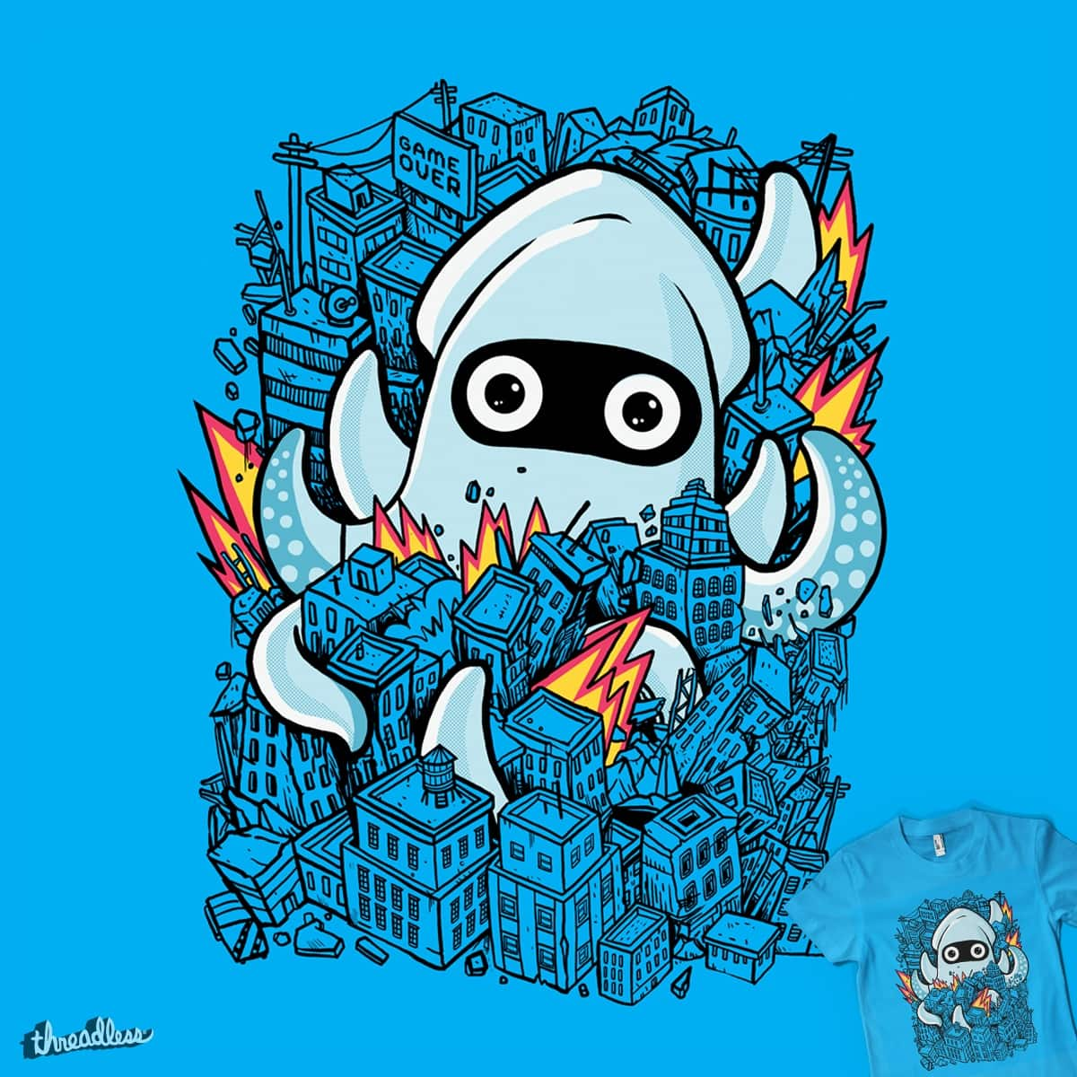 tentical attack by MadKobra on Threadless