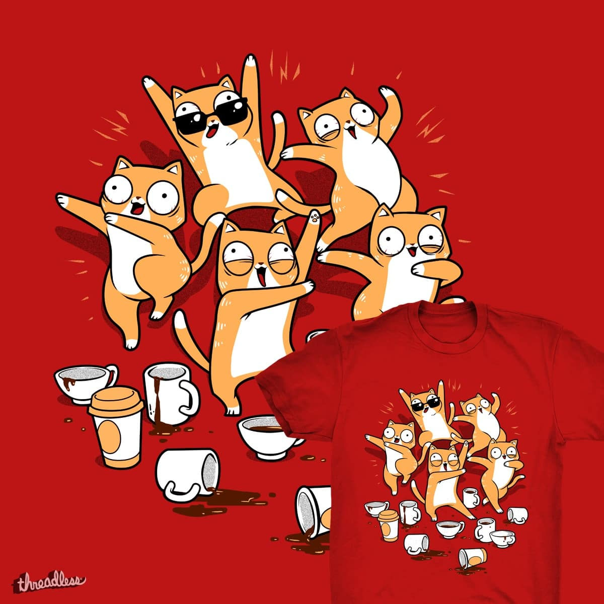 Party Party Party by tobiasfonseca on Threadless
