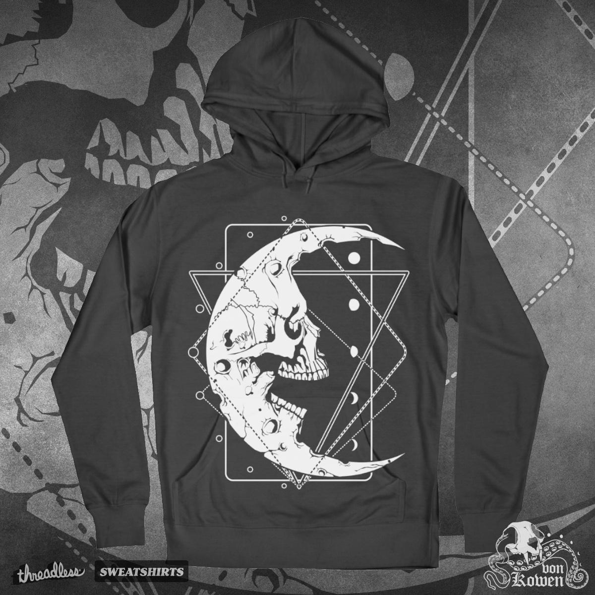 Moon Skull by vonKowen on Threadless