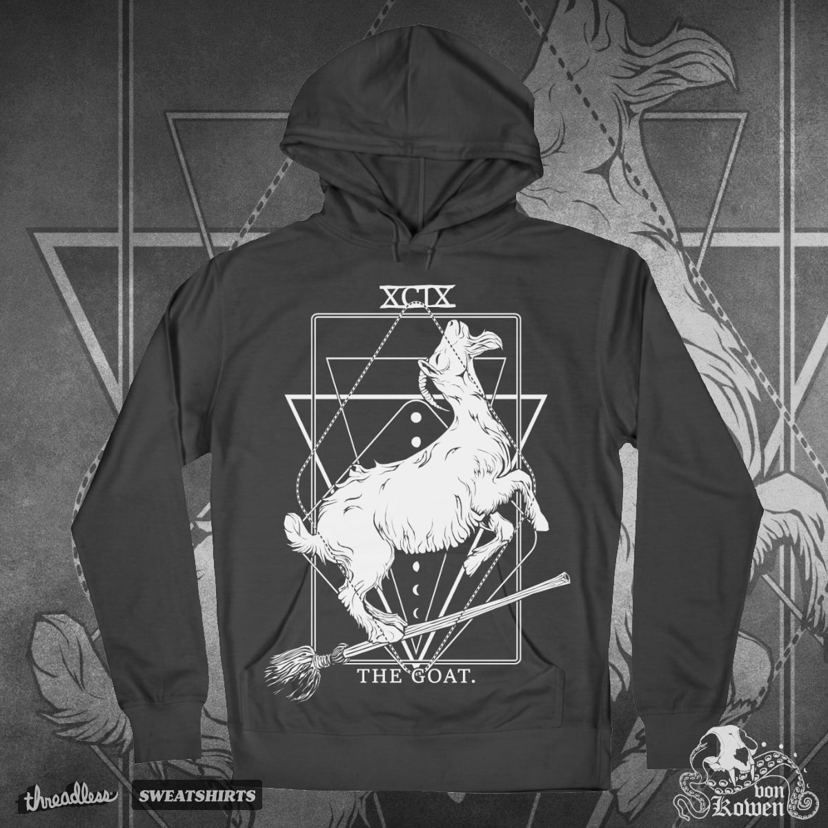 The Goat by vonKowen on Threadless