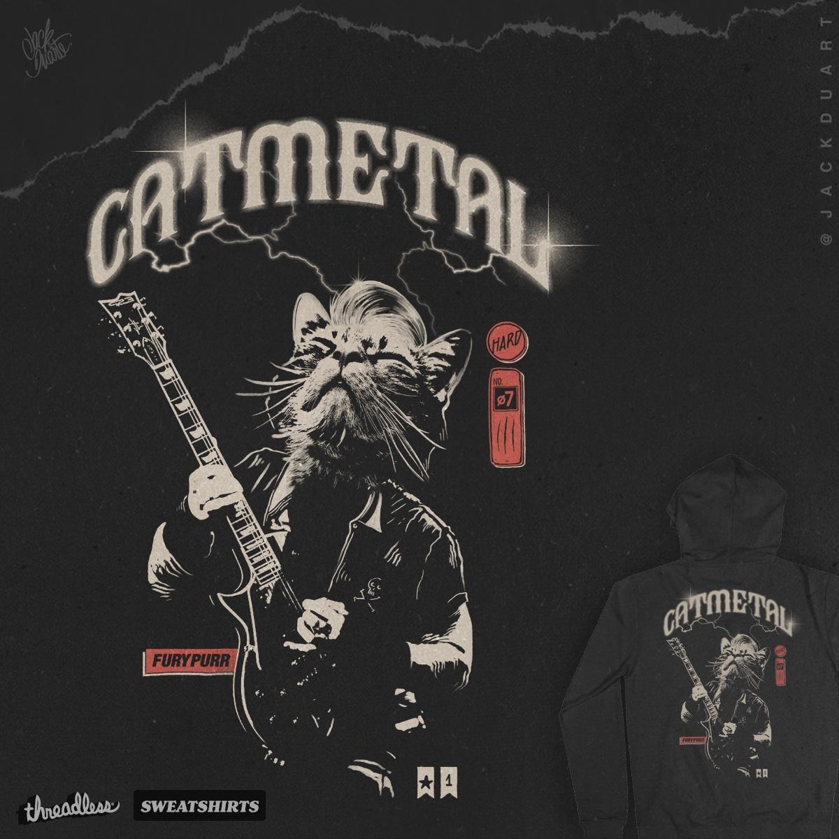 Catmetal by JackDuarte on Threadless