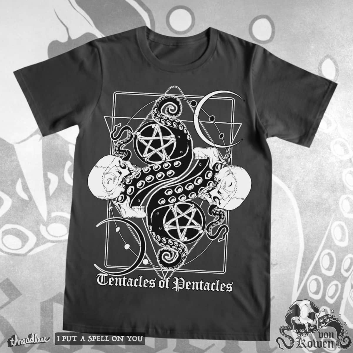 Tentacles of Pentacles by vonKowen on Threadless
