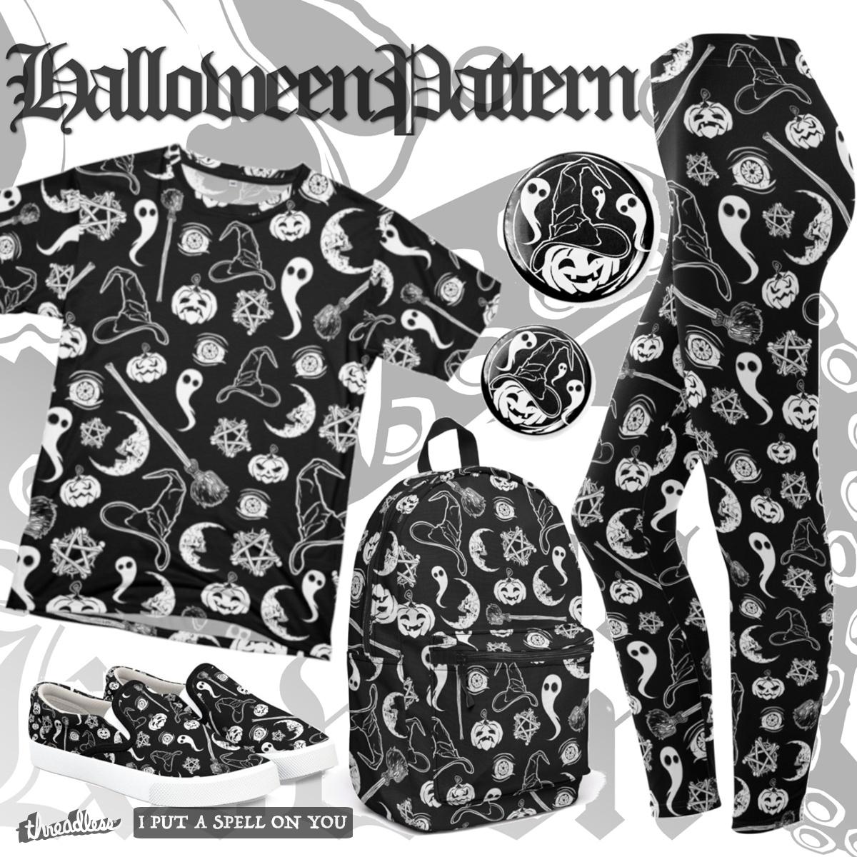 The Halloween Pattern by vonKowen on Threadless
