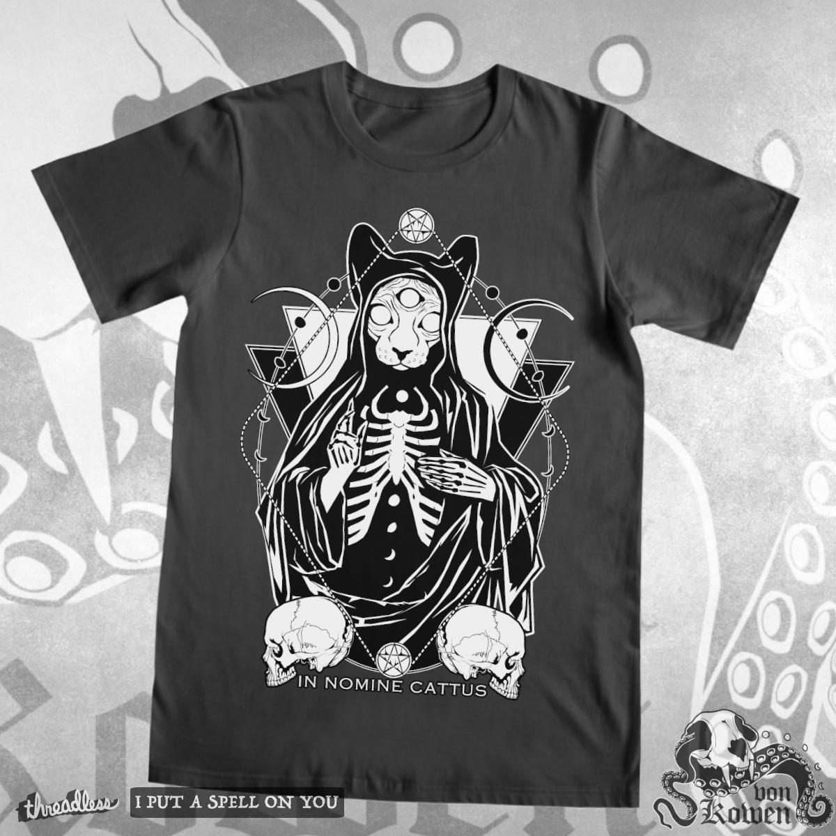 Cat Priest by vonKowen on Threadless