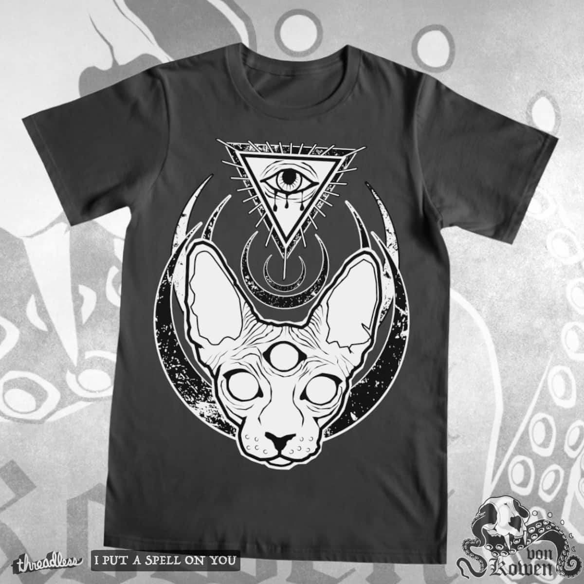 The all seeing occult sphynx by vonKowen on Threadless