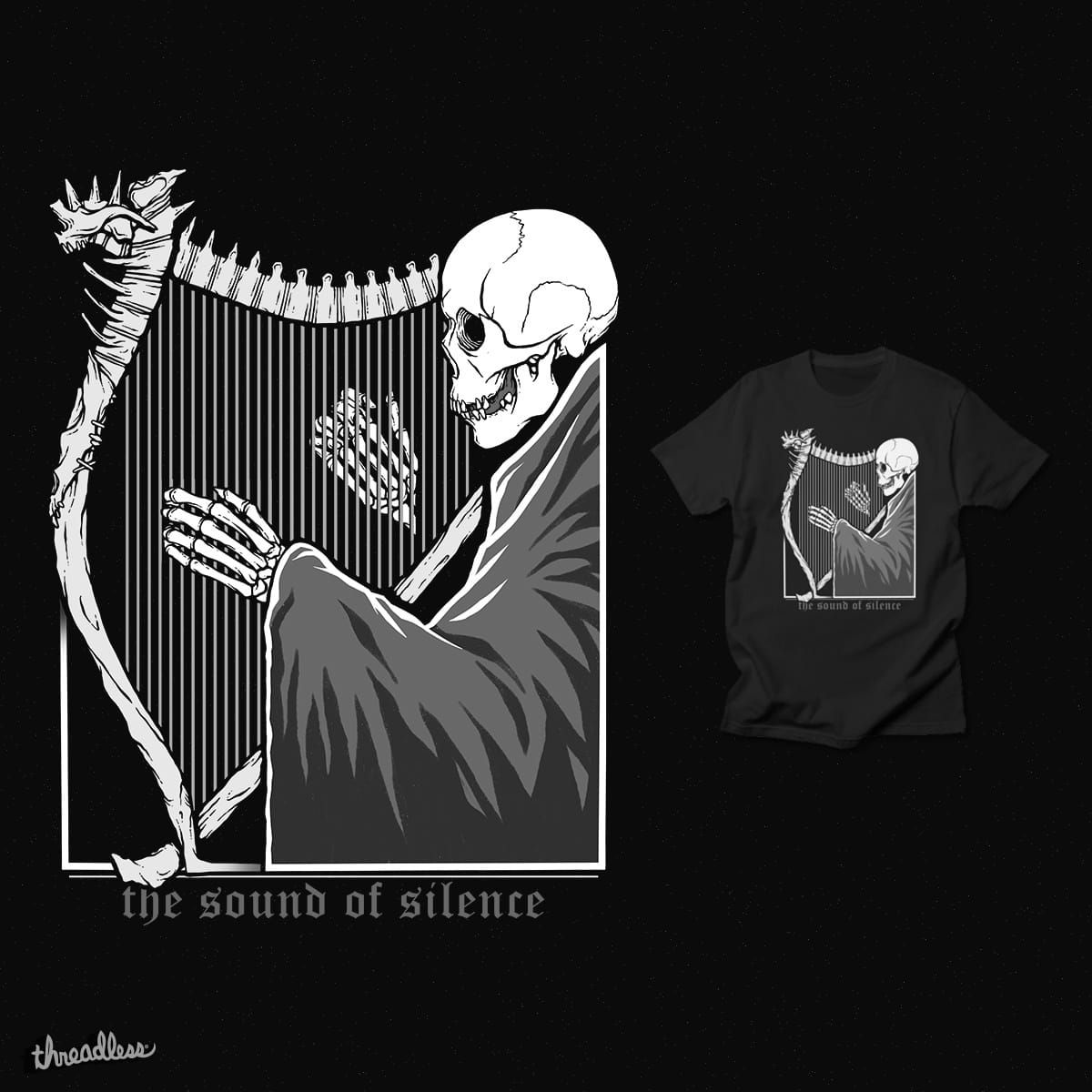 The Sound of Silence by Deniart on Threadless