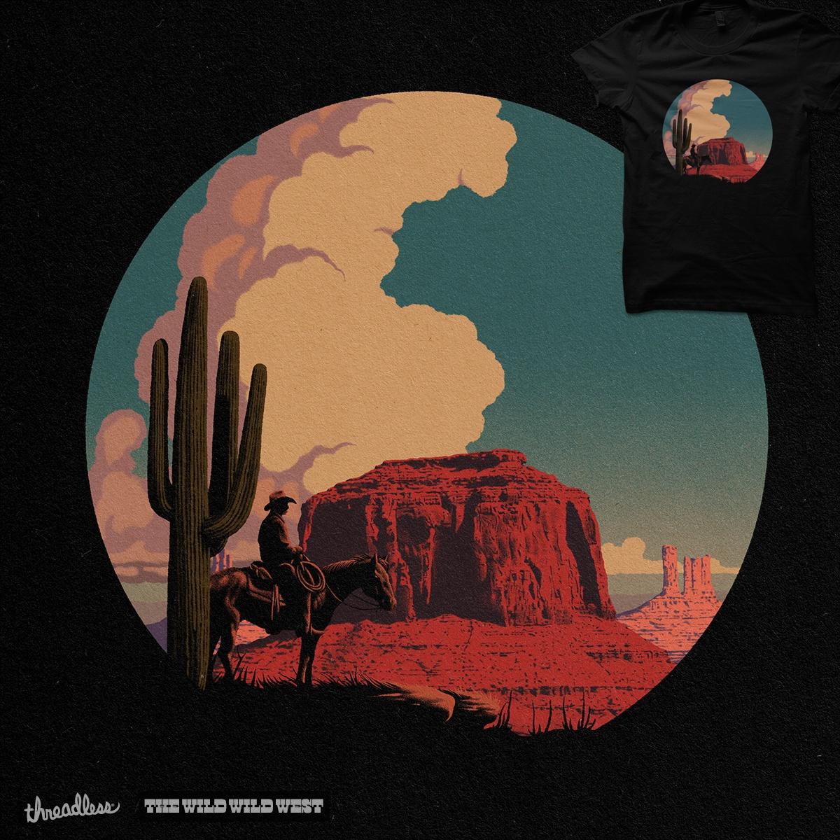 Desert Rider by khairulanam87 on Threadless
