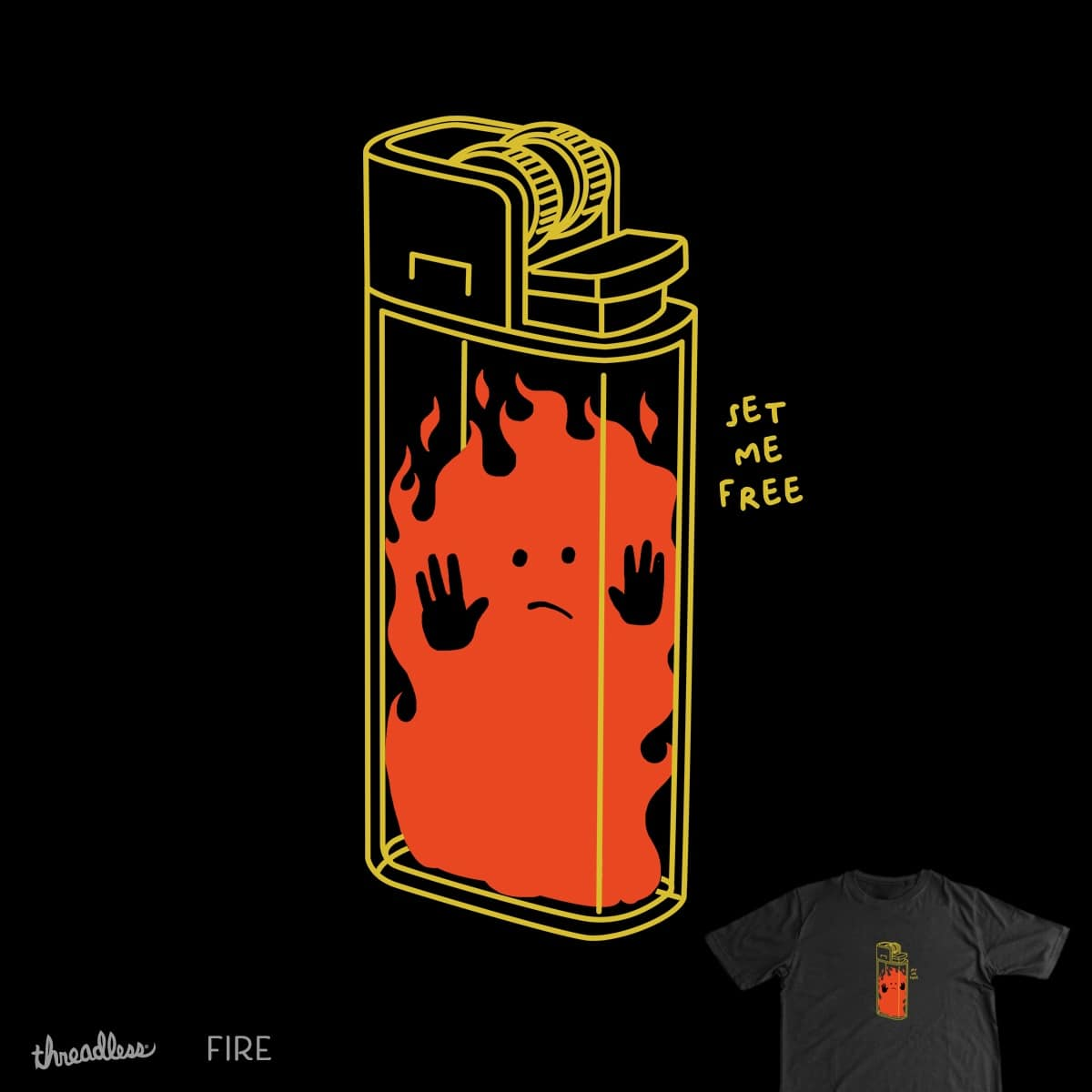 Trapped by DonJono on Threadless